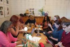 Første skrivecafé i Ås