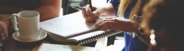 Skrivecafe med SiwSkriv i september
